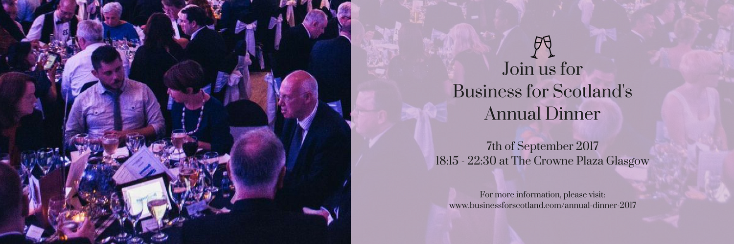 Join us forBusiness for Scotland'sAnnual Dinner(5)