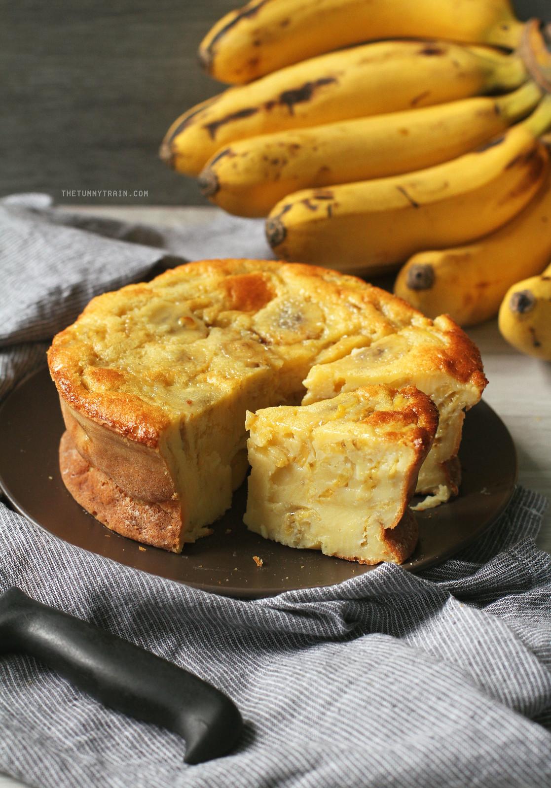 Vietnamese Banana Cake