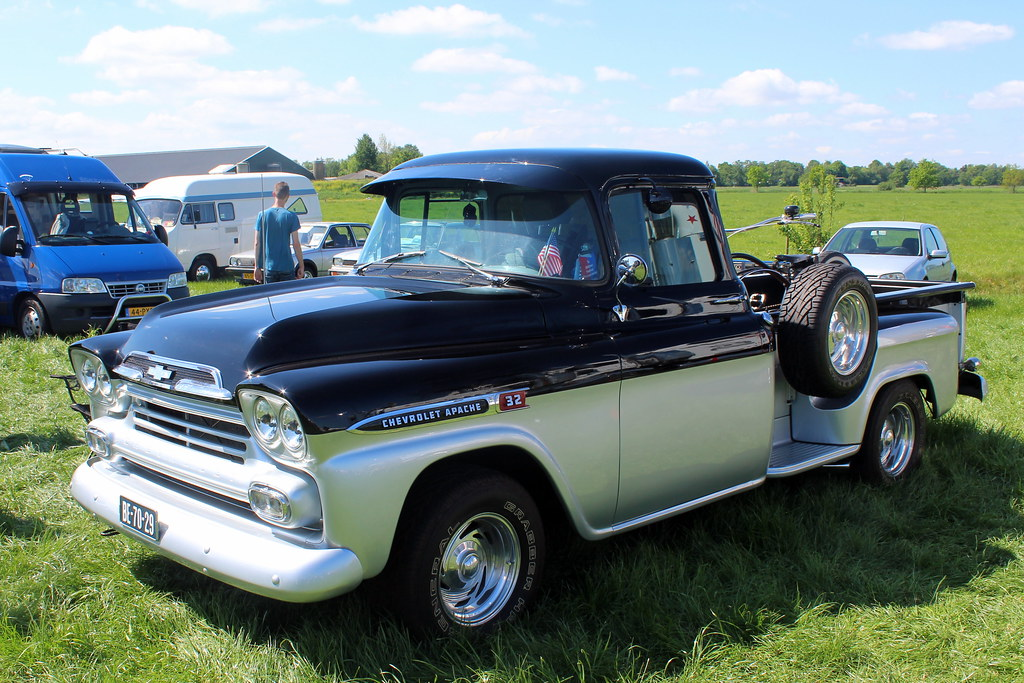1958 Chevrolet Apache 32 Pickup Truck 1958 Chevrolet Apach Flickr