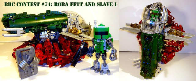 Boba Fett and Slave I, by Xccj, on Flickr