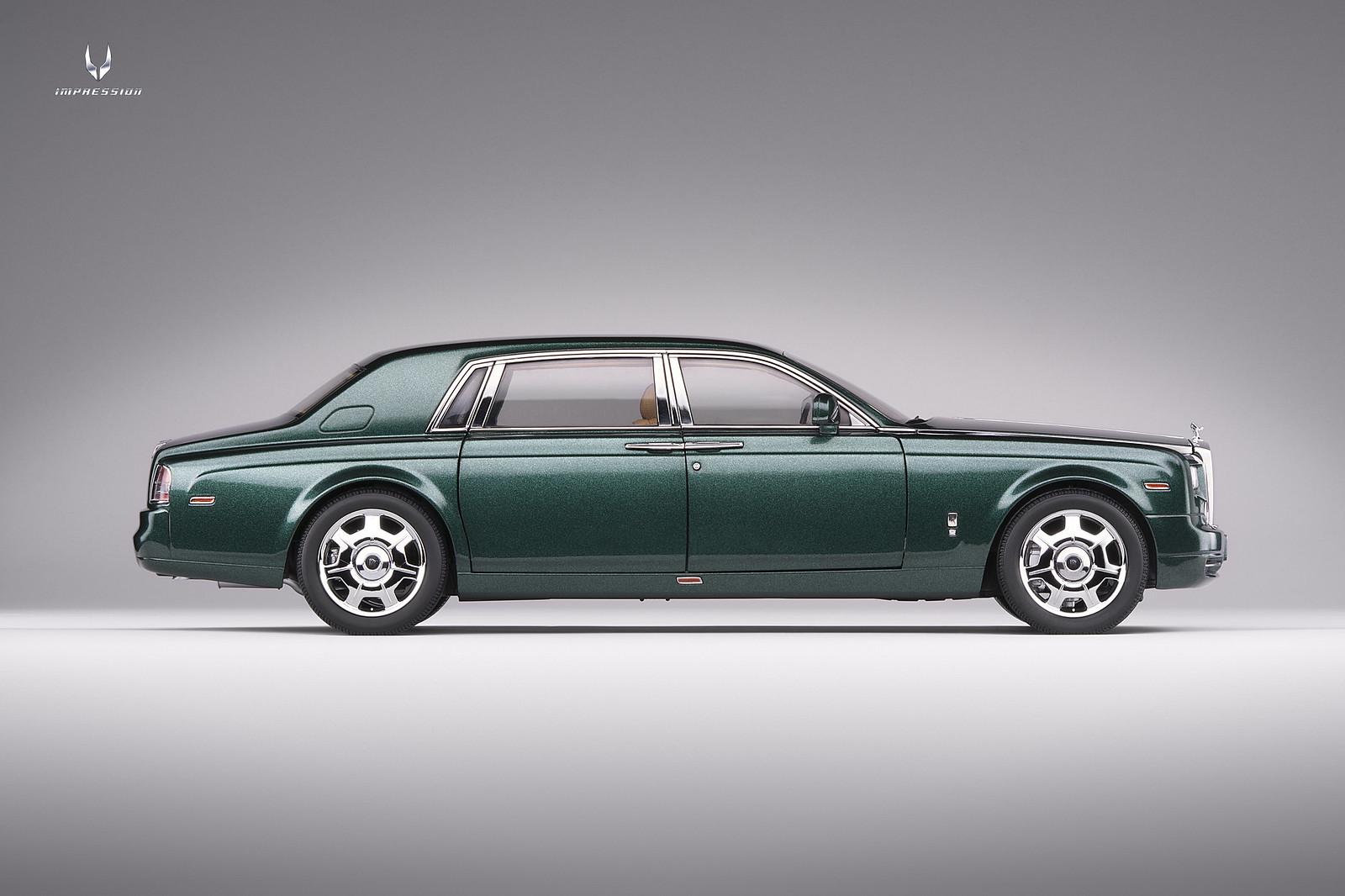 Rolls-Royce Phantom EWB (Brooklands green) [Kyosho ...