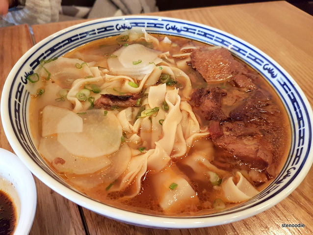 Big Beef Bowl noodles