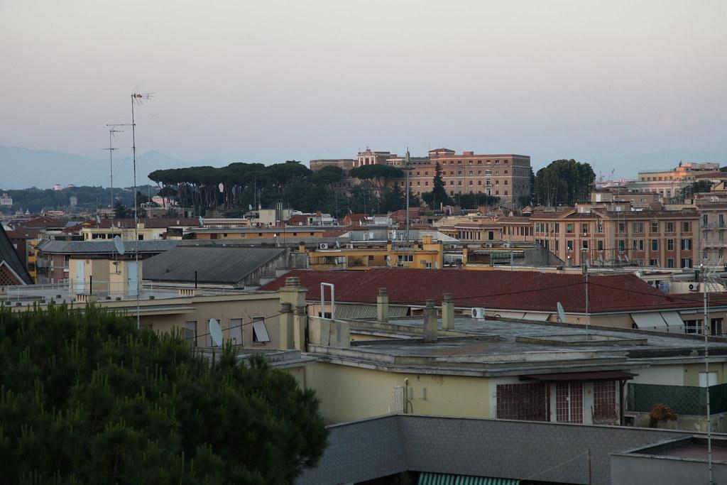 Roma Dalla Terrazza Dell Hotel Giorgio Pongiluppi Flickr