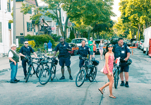 Cops vs. Sundress