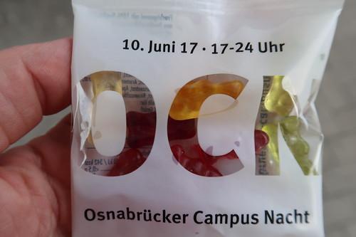 Osnabrücker Campus Nacht Gummibärchen