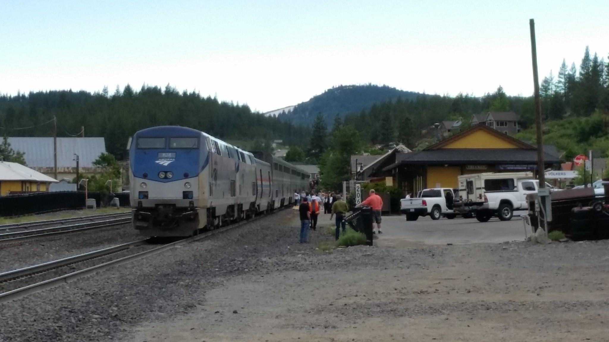Amtrak on Hold
