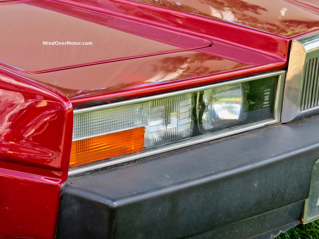 Aston Martin Lagonda Headlight