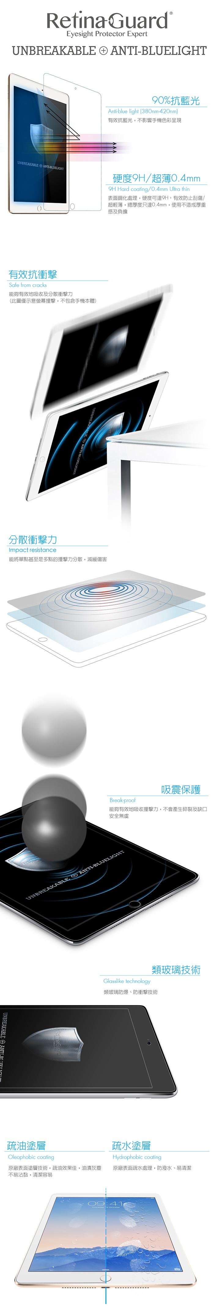 ipad air2抗衝擊膜