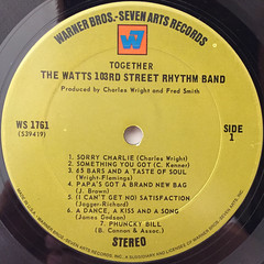 THE WATTS 103RD STREET RHYTHM BAND:TOGETHER(LABEL SIDE-A)