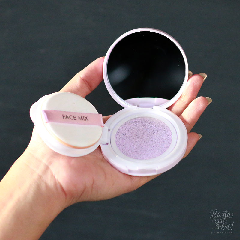 Tony Moly's Fix Mix Primer Color Cushion in #1 (Lavender)
