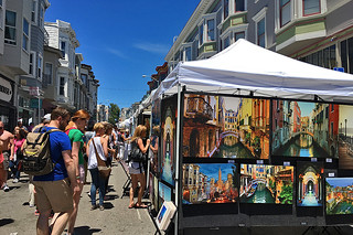 North Beach - Festival Paintings