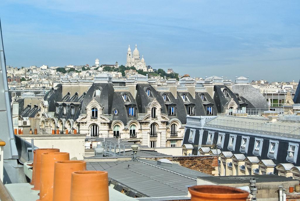 Vue sur la Butte Montmartre