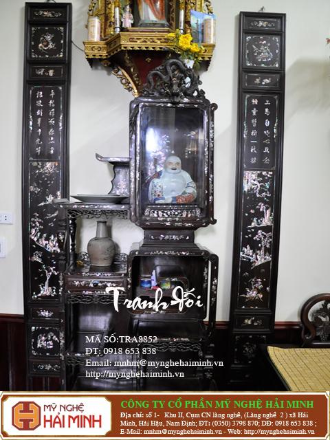 tranh doi kham oc