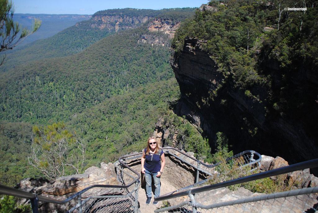 Jenni Blue Mountainsilla, Australiassa