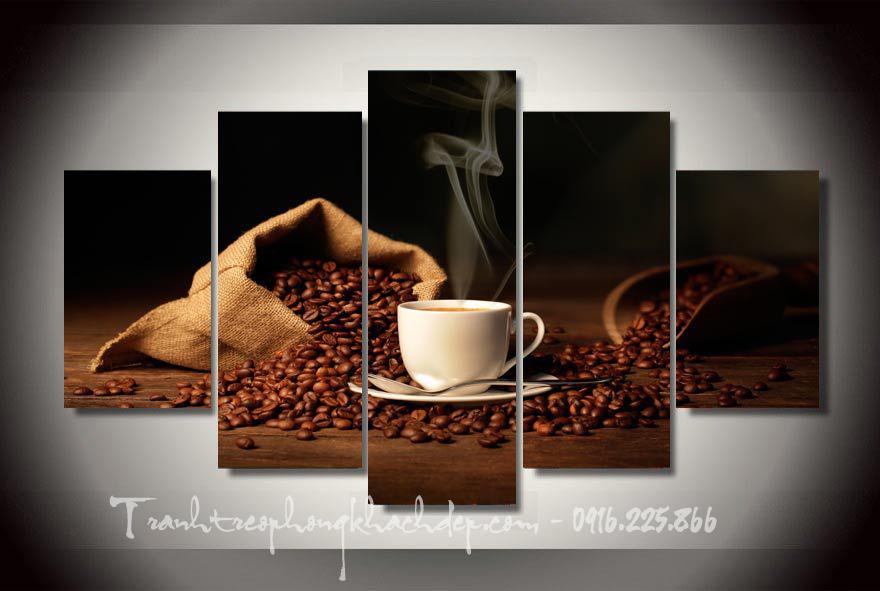 Tranh canvas kho lon treo trang tri quan cafe