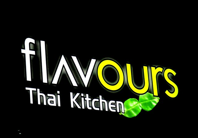 Flavours Thai Kitchen sign 1