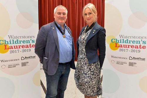Chris Riddell and Lauren Child