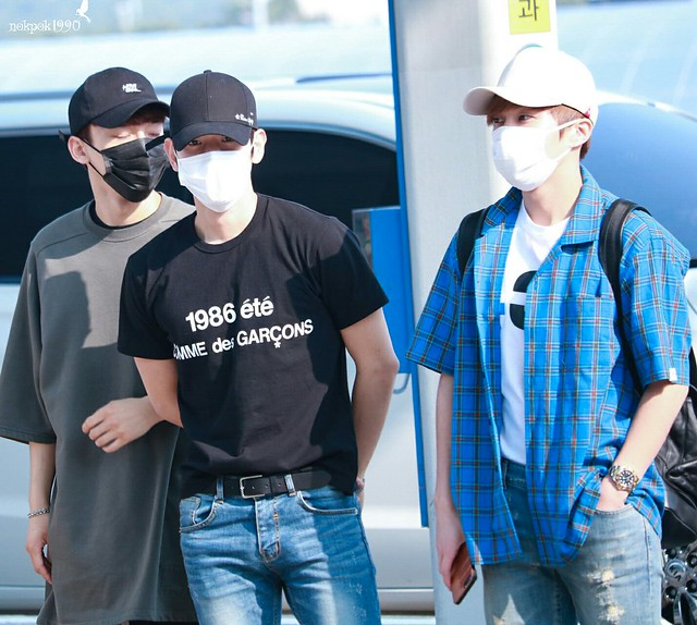 170609 EXO-CBX at Incheon Airport