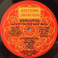 LAFAYETTE AFRO ROCK BAND:VOODOUNON(LABEL SIDE-B)