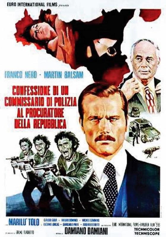 Confessione di un Commissario di Polizia al Procuratore della Repubblica - Poster 1