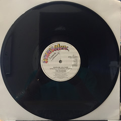 THE HUDSONS:SHOW ME YOU CARE(RECORD SIDE-A)