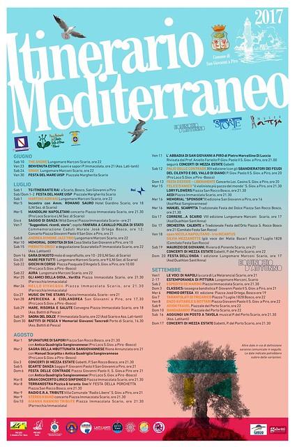 itinerario mediterraneo 2017
