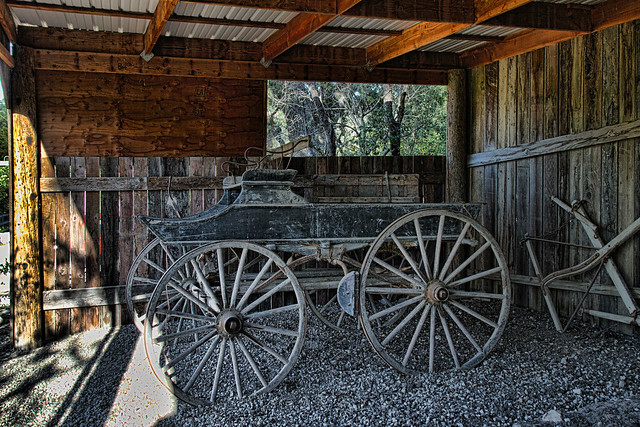 Dubost Ranch 1880s spring wagon