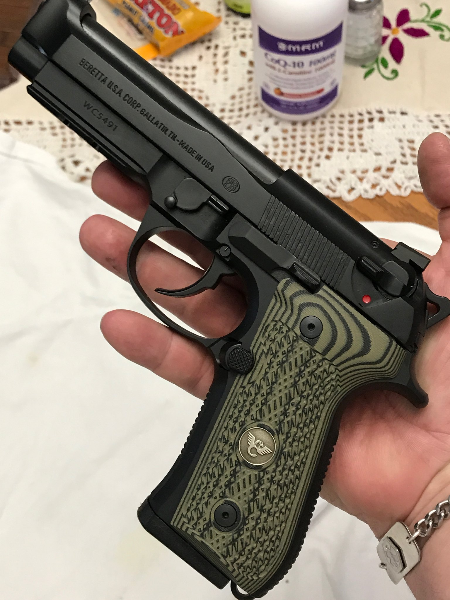 My New Wilson Combat 92G Brig Tac Pistol - Calguns net
