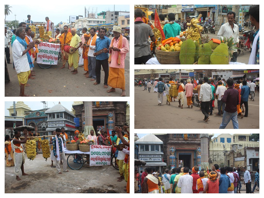 Ansara Fruit Bag ( ଫଳଭାର ) – Procession to Shri Jagannath Temple