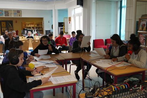 Radio ADL, collège de l'Arche du Lude, Joué-lès-Tours (29/03/17)