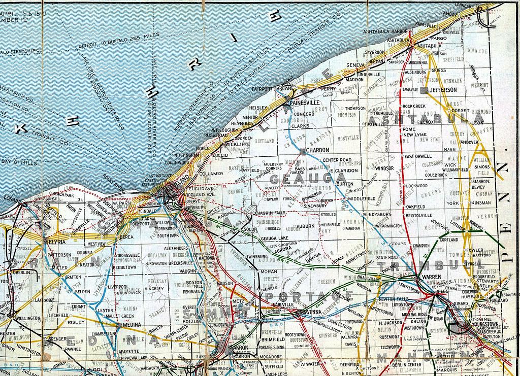 Ohio Railroad Map Detail Ashtabula Archive Flickr - Berlin map 1914