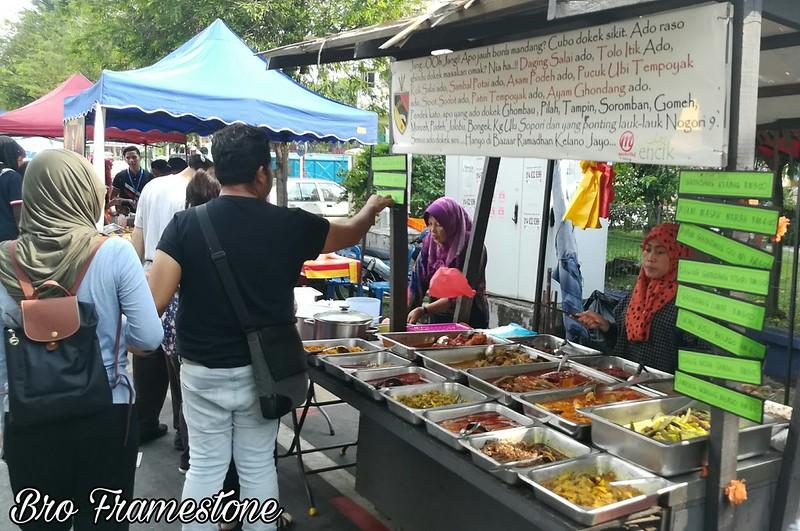 Gerai Masakan Negeri Sembilan Bazar Ramadan Kelana Jaya