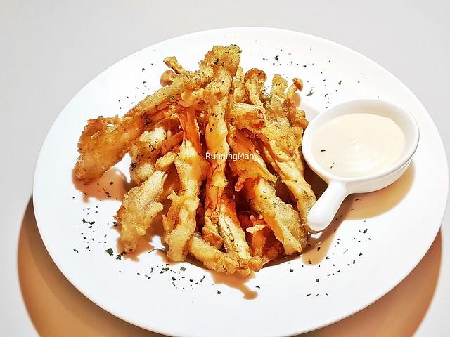 Enoki Mushroom Fries
