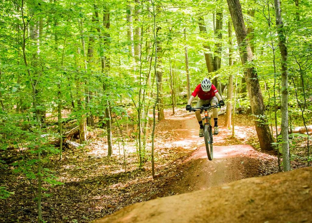 mountain biking in lorton  virginia