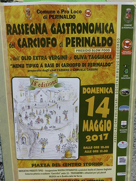 fête de l'artichaut Perinaldo
