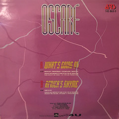 OSCARE:WHAT'S GOING ON(JACKET B)