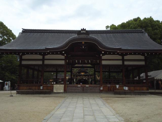 藤森神社の本堂