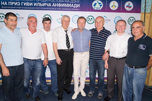 Турнир посвященный предстоящему 70-летию М.Ф. Пазушко