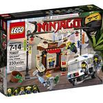 The LEGO Ninjago Movie 70607 Ninjago City Chase