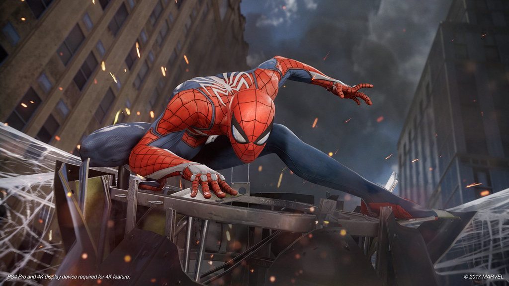 Spider-Man PS4 Gameplay Demo