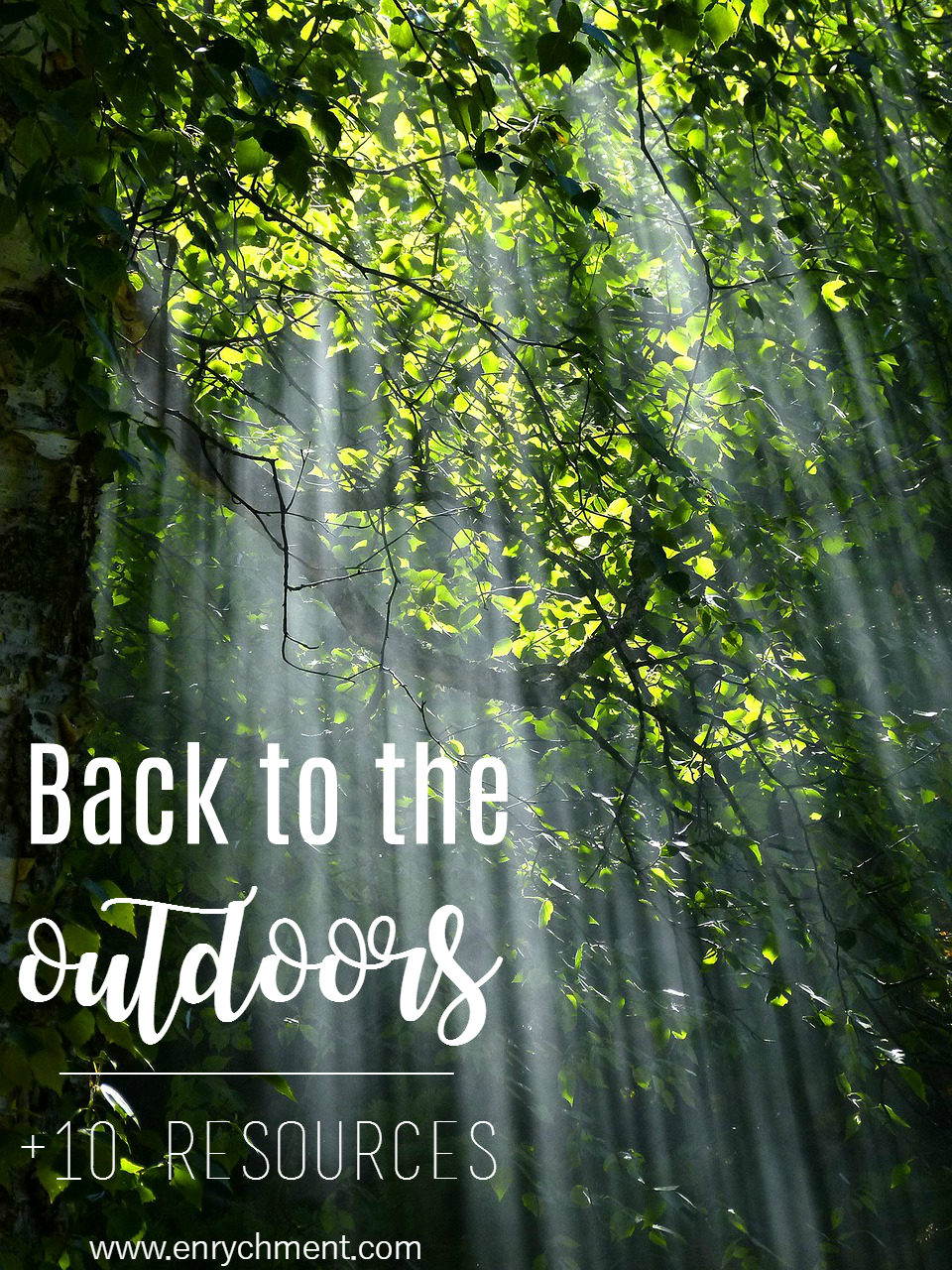 Getting back to the outdoors, plus 10 resources to help