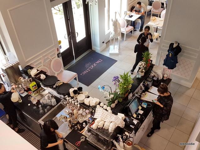 Dazzling Cafe interior
