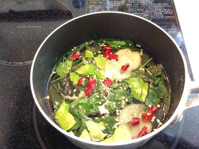 Coriander Noodle and Soupe