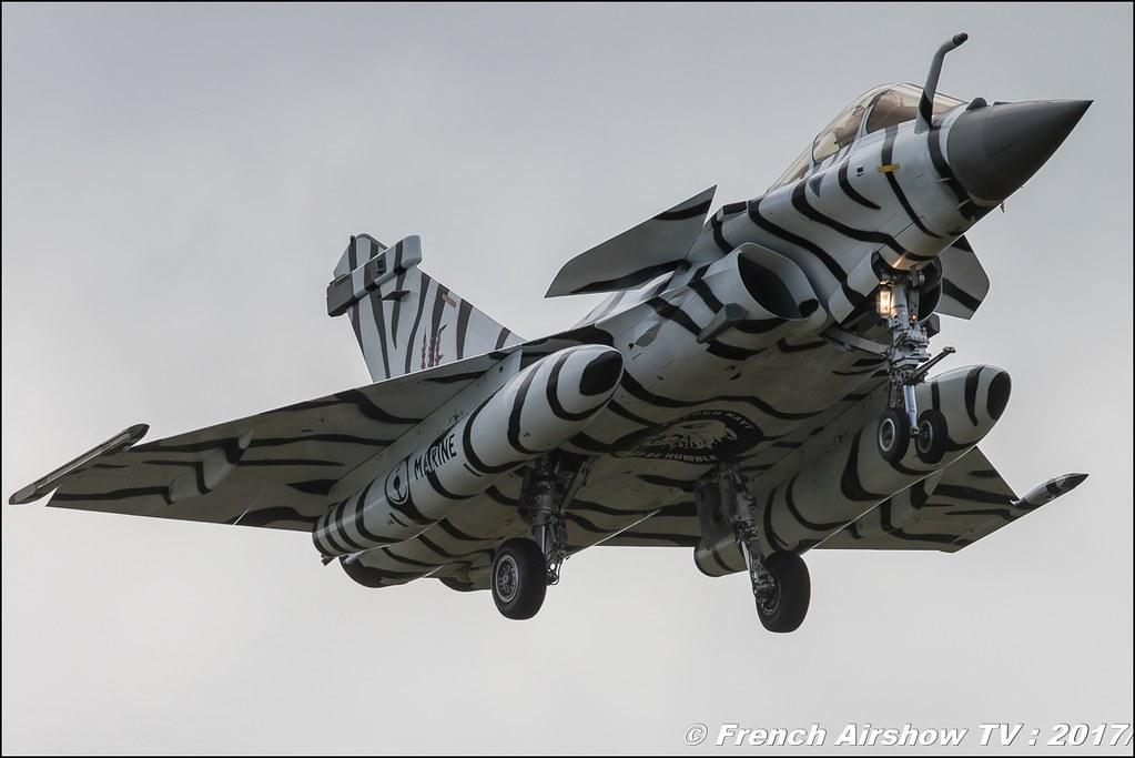 Rafale M , 11F (FN) , Marine National , rafale tiger , Nato Tiger Meet landivisiau 2017 , NTM2017 ,Spottersday Nato Tigers , Harde to be humble , bretagne
