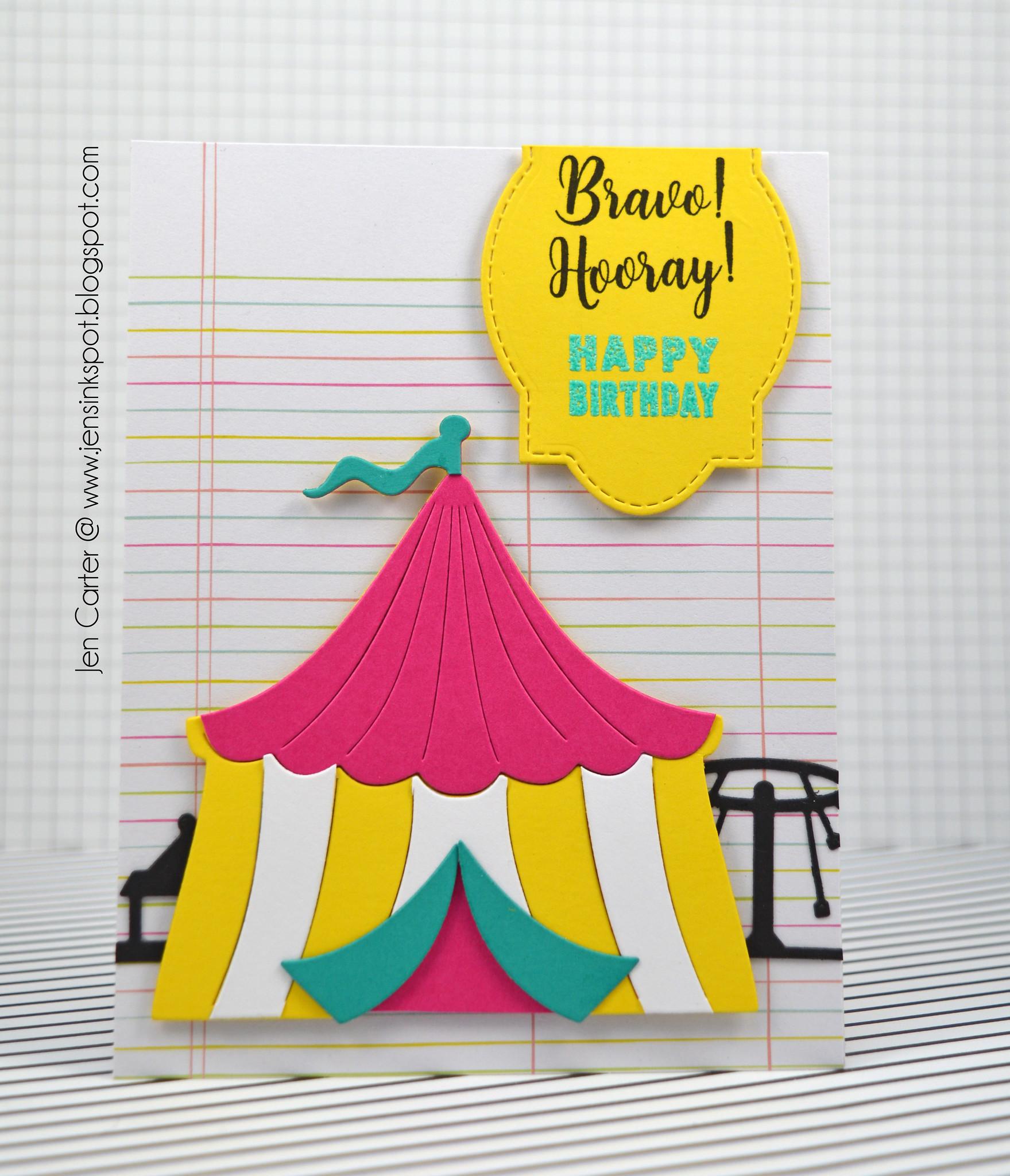 Jen Carter Circus Skyline Tent Bday 1