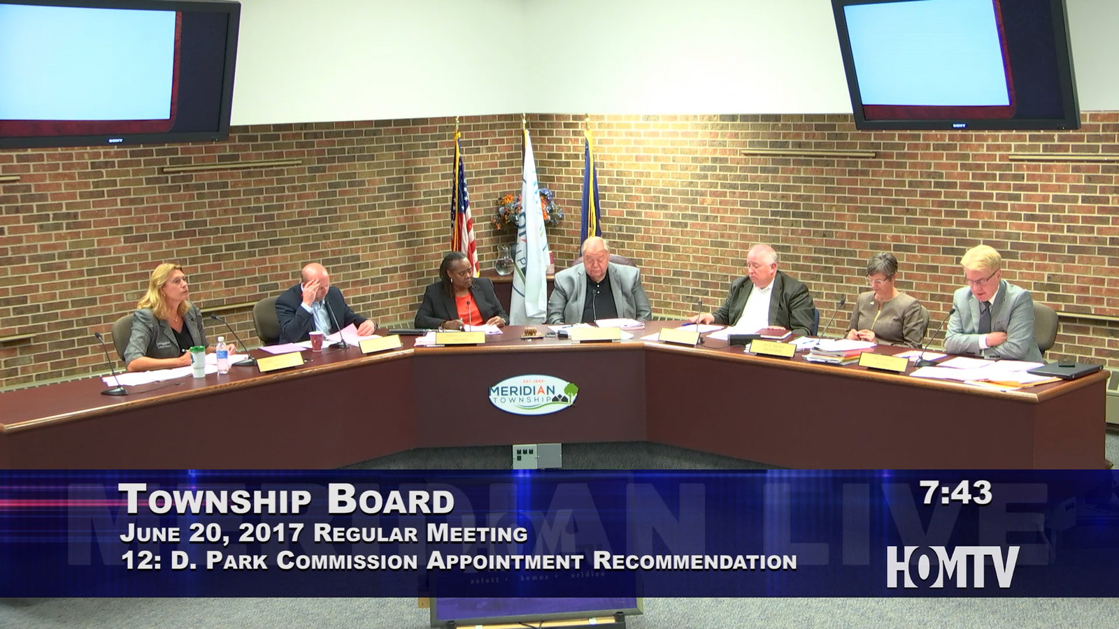 Township Board Appoints New Park Commissioner