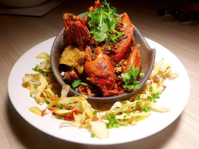 Wok Fried Crab In Wu Jia Pi Wine