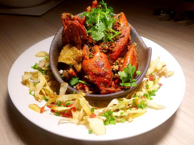 Wok Fried Crab In Wu Jia Pi Wine