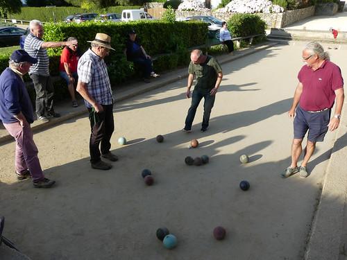 14/07/2017 - Saint Jean du Doigt : Concours Fédéral de boules plombées en quadrette mêlée
