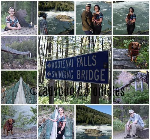 Kootenai Falls Swinging Bridge
